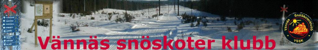 Vännäs snöskoterklubb
