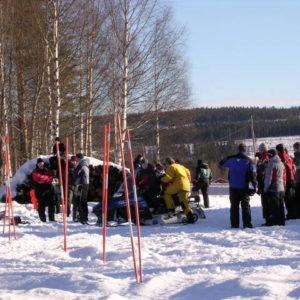 Fin dag för uppkörning i Hjåggsjö